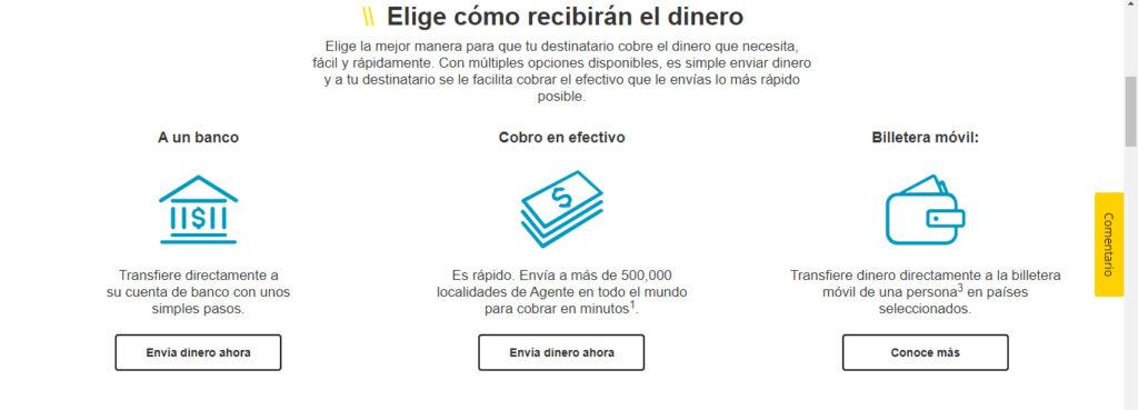 Cómo enviar dinero por Western Union