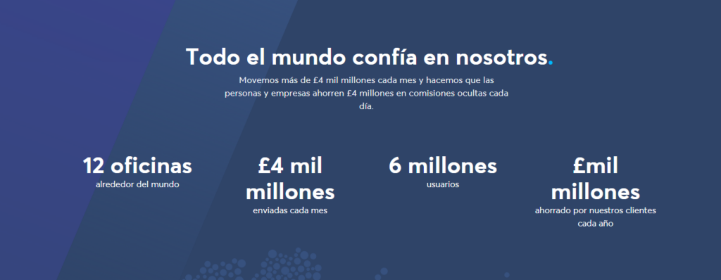 Enviar dinero por TransferWise