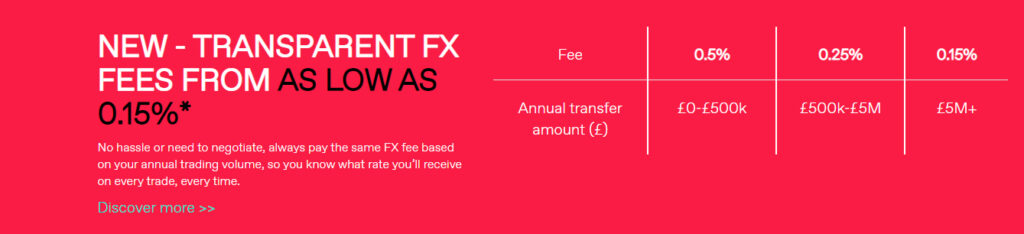 Fees WorldFirst