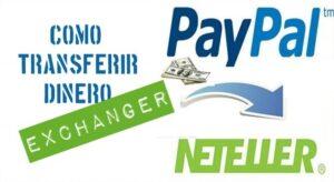 Cómo enviar dinero de Neteller a PayPal